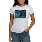 Lilies / Schipperke #4 Women's T-Shirt