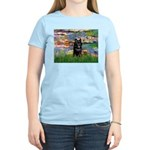 Lilies / Schipperke #4 Women's Light T-Shirt