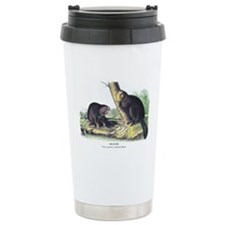 Audubon Beaver Animal Ceramic Travel Mug