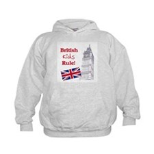 British Kids Rule Hoodie