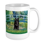 Bridge / Schipperke #4 Large Mug