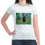 Bridge / Schipperke #4 Jr. Ringer T-Shirt