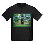 Bridge / Schipperke #4 Kids Dark T-Shirt