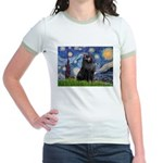 Starry / Schipperke #2 Jr. Ringer T-Shirt