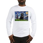 Starry / Schipperke #2 Long Sleeve T-Shirt