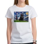 Starry / Schipperke #2 Women's T-Shirt