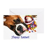 Easter Boxer Dog Greeting Cards (Pk of 20)