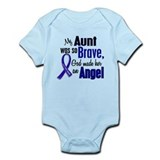 Angel 1 AUNT Colon Cancer Onesie