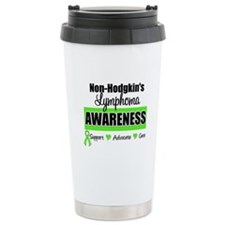 Non-Hodgkin's Awareness Ceramic Travel Mug
