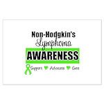 Non-Hodgkin's Awareness Large Poster