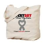 Brain Cancer Sister Tote Bag