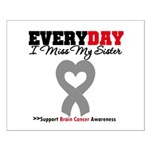 Brain Cancer Sister Small Poster