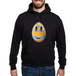 Smiley Easter Egg Hoodie (dark)