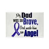 Angel 1 DAD Colon Cancer Rectangle Magnet
