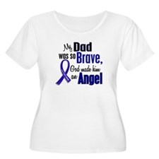 Angel 1 DAD Colon Cancer T-Shirt