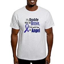 Angel 1 DADDY Colon Cancer T-Shirt