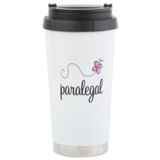 Pretty Paralegal Ceramic Travel Mug