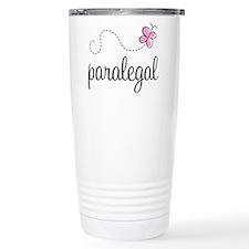 Pretty Paralegal Travel Mug