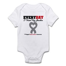 Brain Cancer Grandma Infant Bodysuit