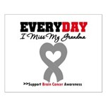 Brain Cancer Grandma Small Poster