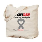 Brain Cancer Granddaughter Tote Bag