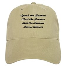 Spank the Bankers Baseball Cap