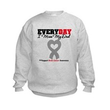 Brain Cancer Dad Sweatshirt