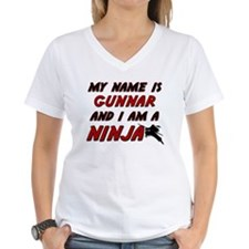 my name is gunnar and i am a ninja Shirt