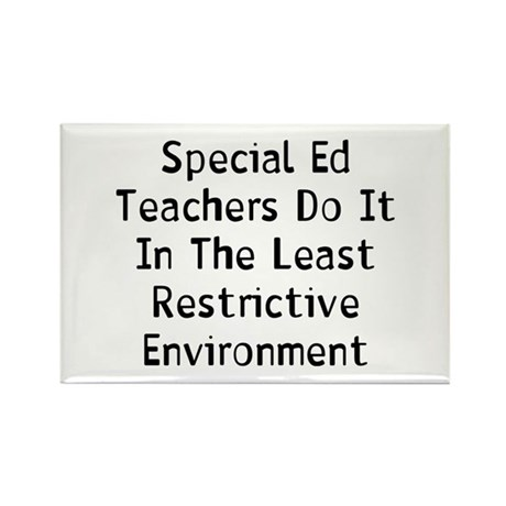 Special Teachers Rectangle Magnet