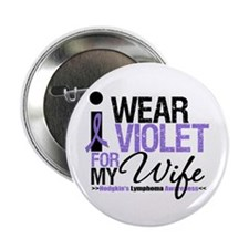 "Hodgkin's Disease Wife 2.25"" Button (10 pack)"