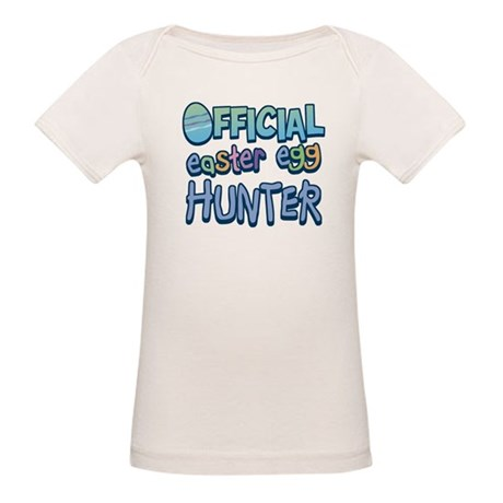 Easter Egg Hunter Organic Baby T-Shirt