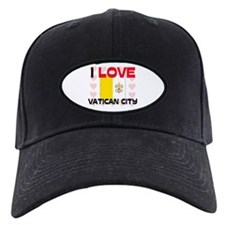 I Love Vatican City Baseball Hat