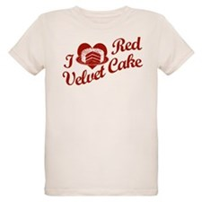 I Love Red Velvet Cake T-Shirt
