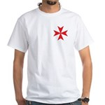 Red Maltese Cross Men's T-Shirt