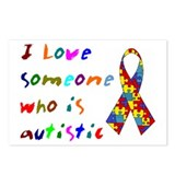 Love Autistic Kids Postcards (Package of 8)