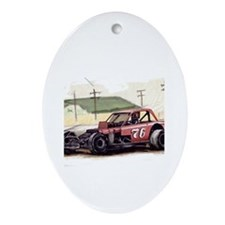 """Old Dirt!"" 76 new Oval Ornament"