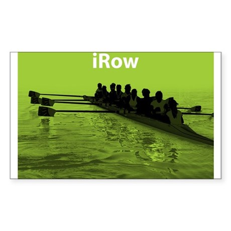 iRow Rectangle Sticker