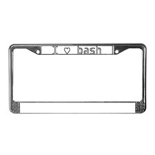 Unique Programming License Plate Frame