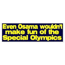 Don't make fun of the Special Bumper Bumper Sticker