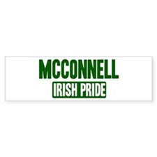 McConnell irish pride Bumper Bumper Sticker