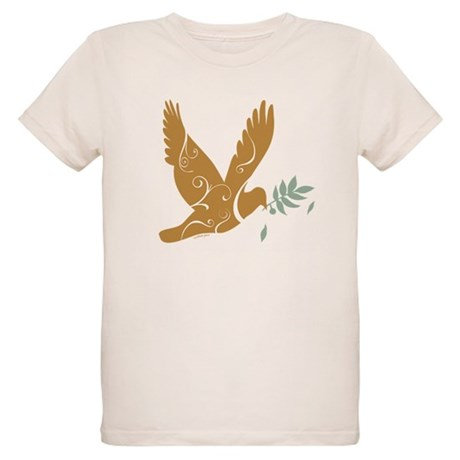 Golden Peace Organic Kids T-Shirt