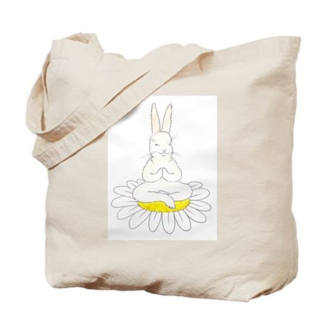 Buddah Bunny Tote Bag