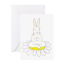 Buddah Bunny Greeting Card