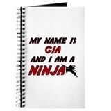 my name is gia and i am a ninja Journal