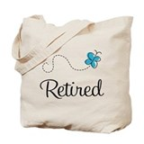 Pretty Retired Retirement Tote Bag