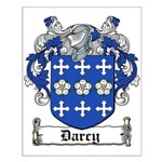 Darcy Coat of Arms Small Poster