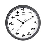 Cool Numeral Wall Clock