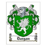 Dargan Coat of Arms Small Poster