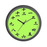 Cute Numeral Wall Clock