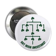 "Irish Ancestors? 2.25"" Button"